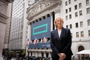 Hewlett Packard Enterprise Company at New York Stock Exchange
