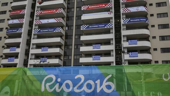 Olympic village in Rio de Janeiro