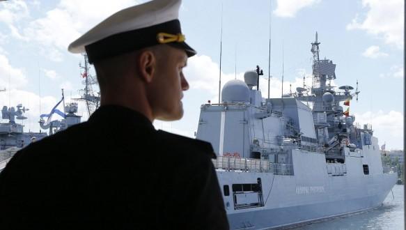 Russian Navy base in Sevastopol