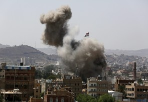 Saudi-led coalition airstrikes despite Eid