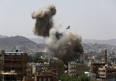 Saudi-led coalition airstrikes despite Eid