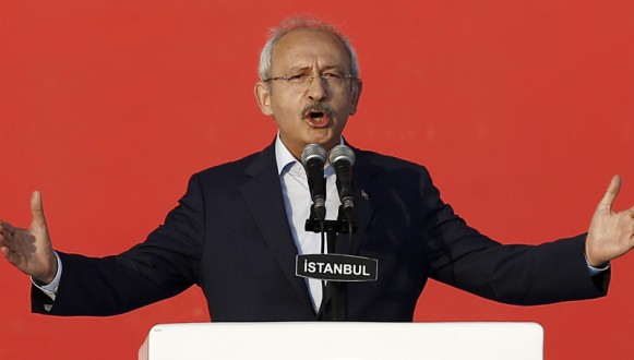 Vehicle convoy carrying leader of main Turkish opposition Republic Public Party leader Kemal Kilicdaroglu has been attacked by unidentified assailants