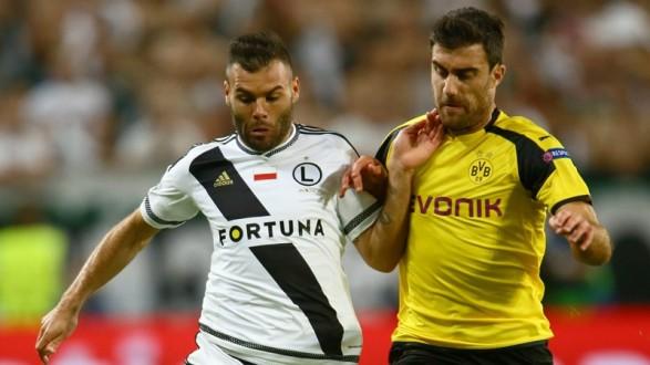Legia Warsaw vs Borussia Dortmund