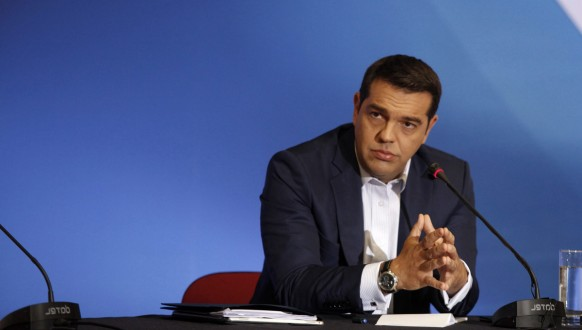 Greek PM Alexis Tsipras at the 79th Thessaloniki International Fair