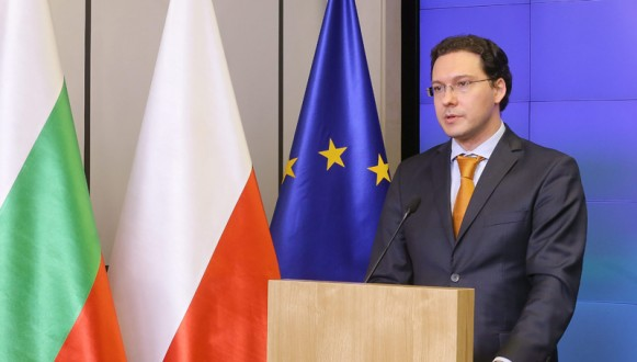 Bulgarian Foreign Minister Daniel Mitov in Poland