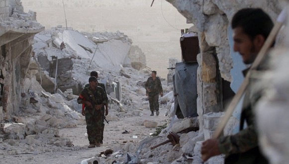Syrian army established control over Southwest of Aleppo province