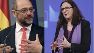European Parliament president Martin Schulz visits Spain
