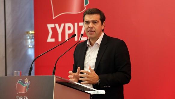 Α. ΤΣΙΠΡΑΣ ΚΕ ΣΥΡΙΖΑ ΟΜΙΛΙΑ