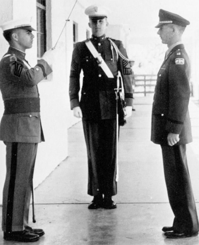 4. Ένστολος στη Στρατιωτική Ακαδημία της Νέας Υόρκης, 1964...
