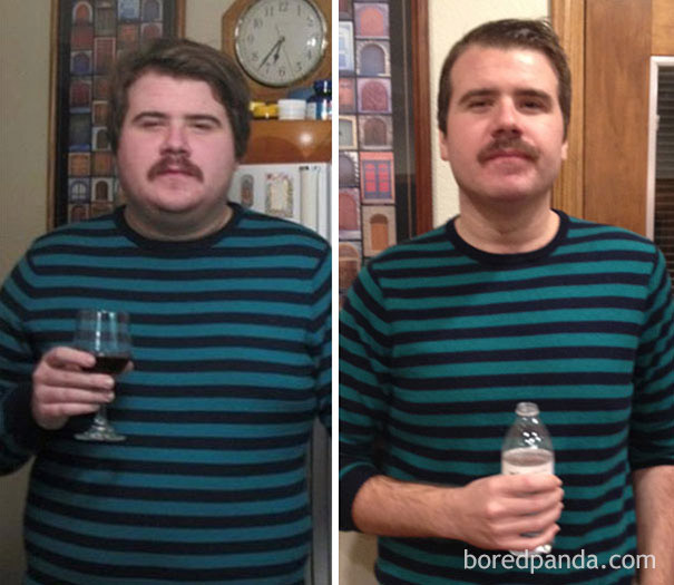 1 χρόνο  χωρίς αλκοόλ