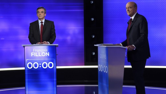 France's right-wing Presidential primary debate