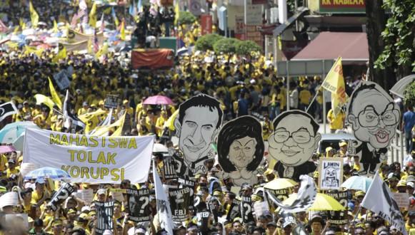 BERSIH 5.0 protest in Malaysia