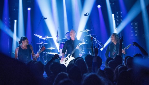 Metallica perform in Berlin