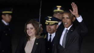 US President Barack Obama visits to Peru for APEC Summit