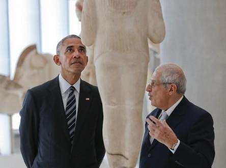 Barack Obama, Dimitrios Pandermalis