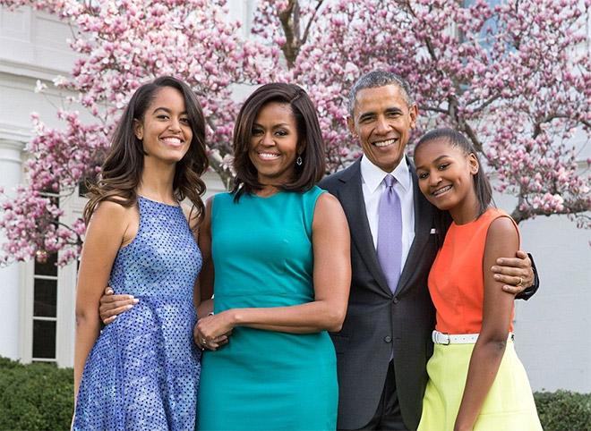 Το ζεύγος Ομπάμα διακόσμησε τους χώρους με ιδιαίτερο και μοντέρνο γούστο.