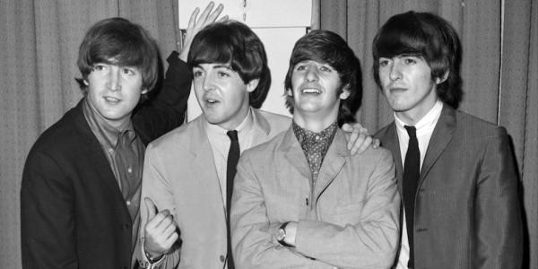 The Beatles, John Lennon, Paul McCartney, Ringo Starr and Ge