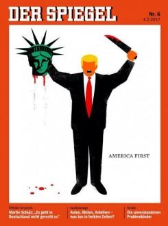 Το Spiegel υπερασπίζεται το εξώφυλλο με τον