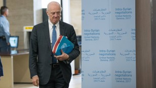 Negotiations between the Syrian government and the UN Special Envoy