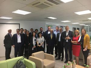 Διευθυντικά στελέχη από τις εταιρείες μέλη του παγκόσμιο δίκτυο της Grant Thornton που συμμετείχαν China Europe Business Group