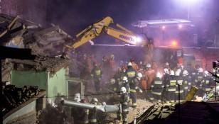 Gas explosion in Swiebodzice