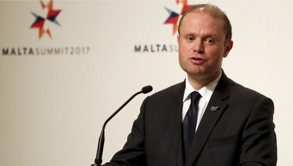 Joseph Muscat has called a general election in Malta for 03 June 2017
