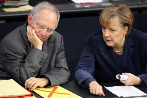 German Bundestag debates 2011 budget