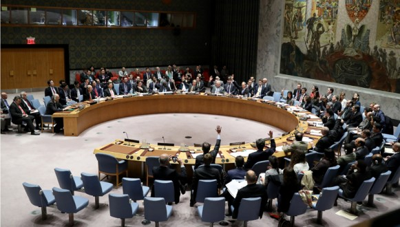 UN Security Council vote situation in Syria