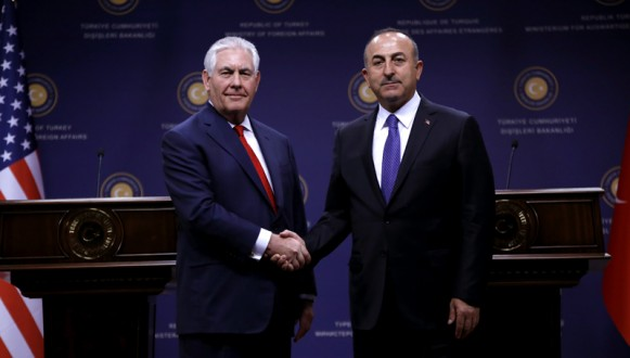 US Secretary of State Rex Tillerson visits Turkey