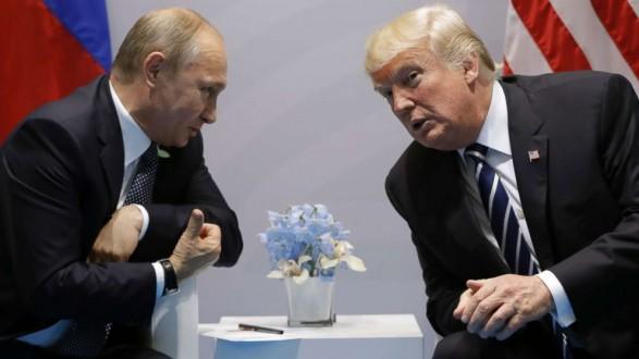 """Αποτέλεσμα εικόνας για Τραμπ και Πούτιν είχαν """"καλή χημεία"""""""