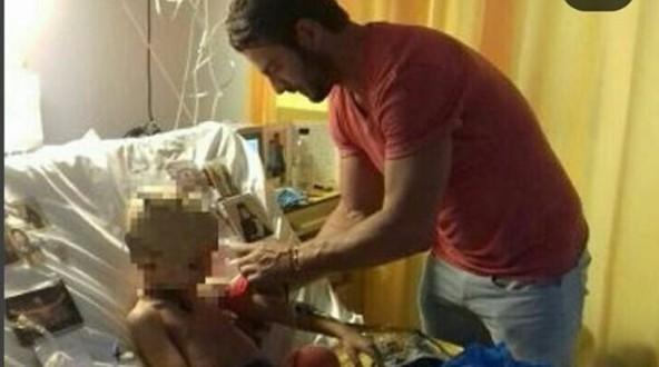 Ο Γιώργος Αγγελόπουλος χαρίζει χαμόγελα σε παιδιά που έχουν ανάγκη [εικόνες]