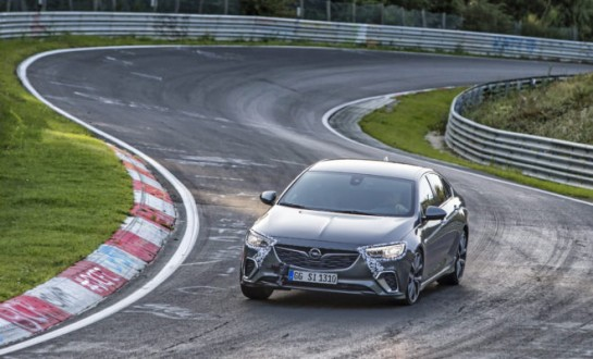 New Opel Insignia GSi on the Nürburgring