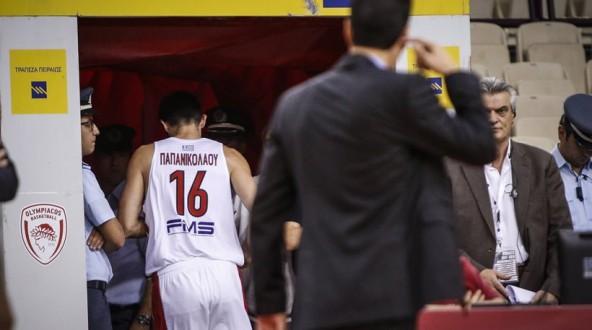 Σφαιρόπουλος για Παπανικολάου: «Δεν είναι δουλειά των παικτών να μιλάνε σε διαιτητές»