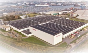 Nissan achieves largest collective solar roof in the Netherlands