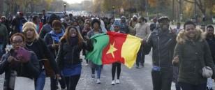 FRANCE-LIBYA-SLAVERY-DEMO