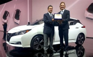 """Nissan LEAF recebe o prêmio """"Carro Verde do Ano 2018"""", pela FIPA"""