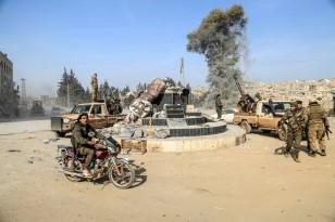 Turkey-backed Free Syrian Army capture Afrin city