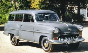 Six decades of Opel estates