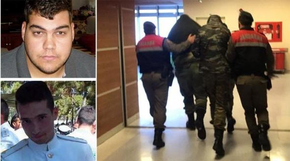 Αποτέλεσμα εικόνας για δυο ελληνες αξιωματικοί κρατουμενοι στην τουρκία