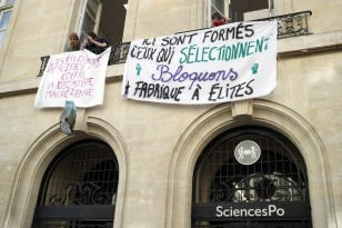France Students Strikes