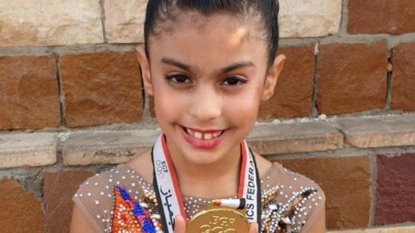 H 7χρονη Ρεκτσίνη το χρυσό στους Παναιγυπτιακούς αγώνες ρυθμικής γυμναστικής