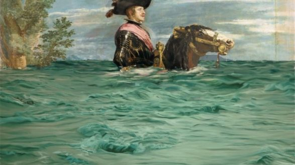 «Επέμβαση» σε πίνακες του Πράδο για τη δυστοπία της κλιματικής αλλαγής...