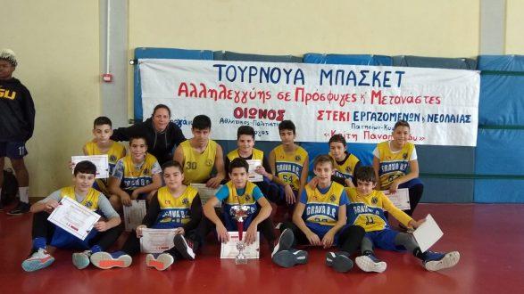 Τουρνουά μπάσκετ αλληλεγγύης σε πρόσφυγες και μετανάστες στη Γκράβα!