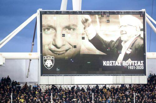 ΑΕΚ: «Κώστα Βουτσά, δεν θα σε ξεχάσουμε ποτέ!»