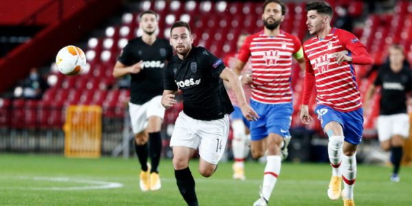 Europa League: Γρανάδα - ΠΑΟΚ 0-0