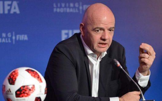 Θετικός στον κορωνοϊό ο πρόεδρος της FIFA