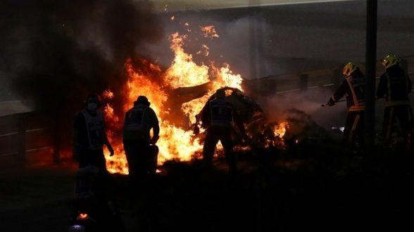 F1: Στο νοσοκομείο ο Γκροζάν – Σοκαριστικό ατύχημα στο Γκραν Πρι του Μπαχρέιν