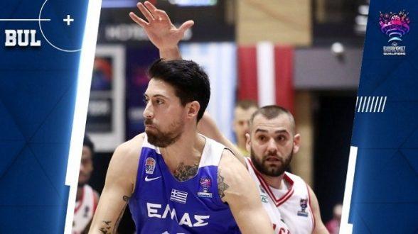 Προκριματικά Ευρωμπάσκετ 2022: Βουλγαρία-Ελλάδα 78-84