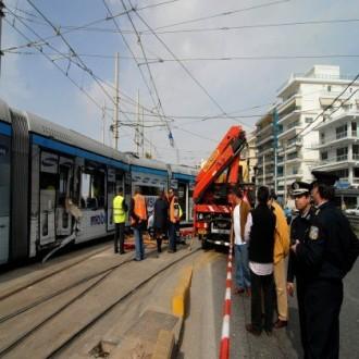 Σύγκρουση τραμ με IX στην Καλλιρρόης