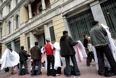 Συγκέντρωση διαμαρτυρίας για τον νεκρό μικροπωλητή